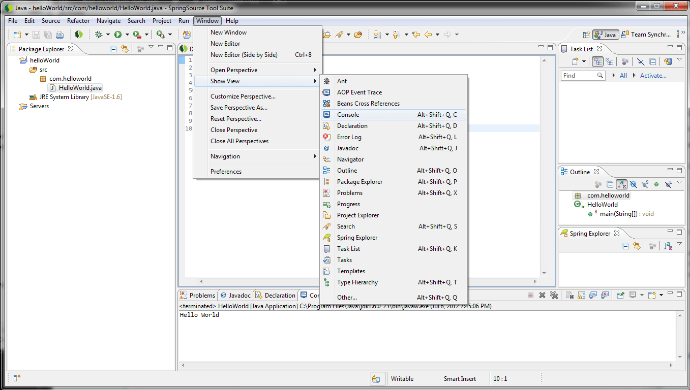 Java: a selection of sites